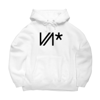 VIVID Neon*VN logo Big Hoodies
