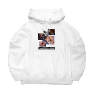Baby, don't smoke. Big Hoodies