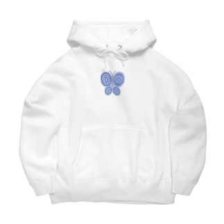 One point Butterfly Big Hoodies