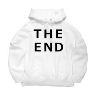 THE END (黒) Big Hoodies