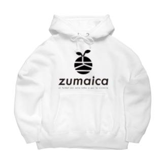 zumaica Black スペイン語 Big Hoodies