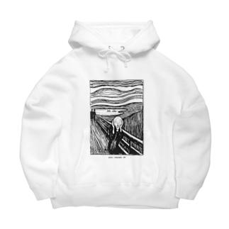 ムンク / 叫び / The Scream / Edvard Munch / 1895 Big Hoodies
