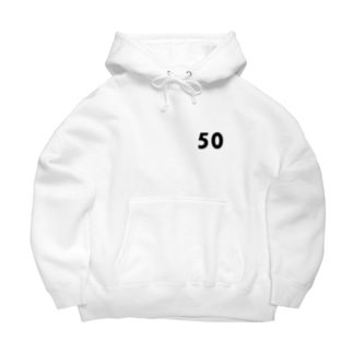 50 黒 Big Hoodies