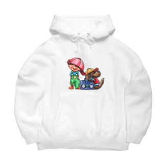 AIBOU Big Hoodies