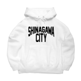 SHINAGAWA CITY(BK) Big Hoodies