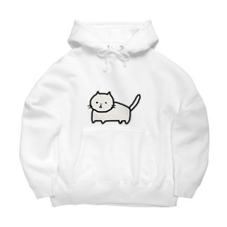ぶちゃ猫のサンミー Big Hoodies