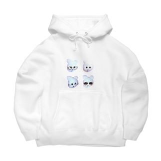 Kmakici FourFace Big Hoodies