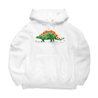 ステゴサウルス Big Hoodies
