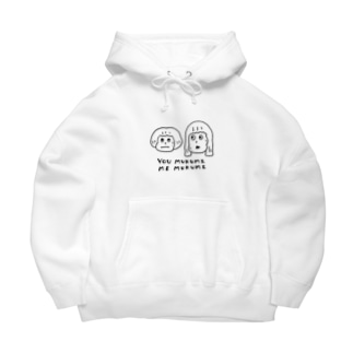 You むくみand Me むくみ Big Hoodies