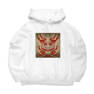 双子兎派(RED) Big Hoodies