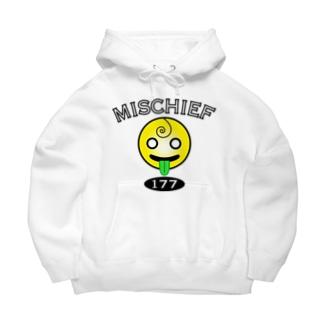 赤ちゃん「MISCHIEF」 Big Hoodies