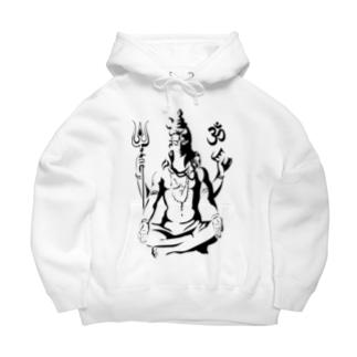 Shiva Big Hoodies