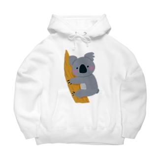 オーストラリアのコアラを助けよう!募金 Big Hoodie