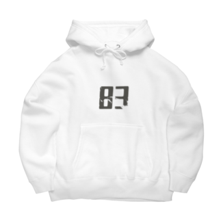 83's spaceの83デザイン by陽葉ヨウ/79点 Big Hoodies