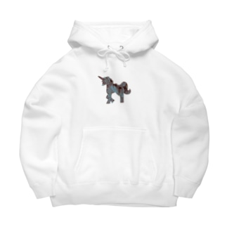 Aqua UNICORN Big Hoodies