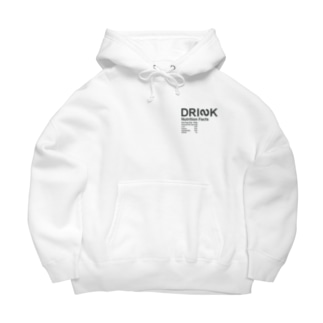 DRINKのMessages graphic 005W Big Hoodies