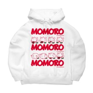 MOMOROS(WHITE) Big Hoodies