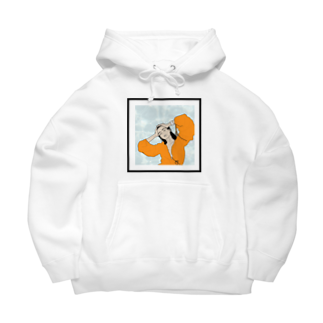 OCHIYASのorange pool Big Hoodies