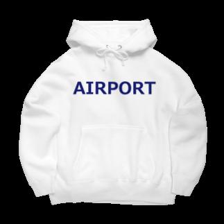 アメリカンベースのエアライングッズ AIRPORT Big Hoodies
