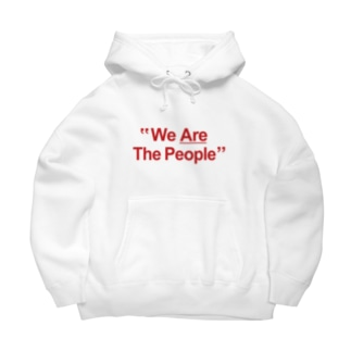 "stereovisionの""We Are The People"" Big Hoodies"