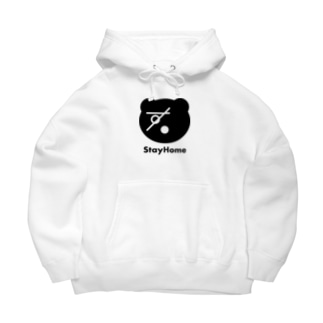 sugomoriくま(StayHome) Big Hoodies