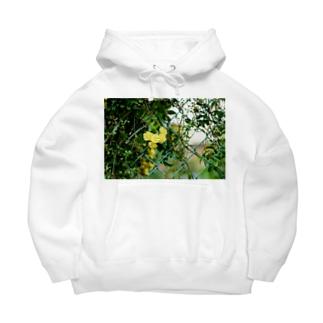 FLOWER-きいろ- Big Hoodies