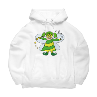 パナウルマジックのフェアリーズ(森の妖精) Big Hoodies