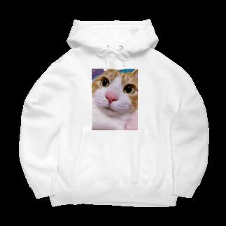昭和~平成~令和系のりさぴん@の保護猫 セサミくん Big Hoodies