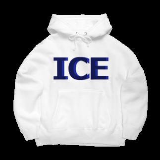 アメリカンベースのアイス Big Hoodies