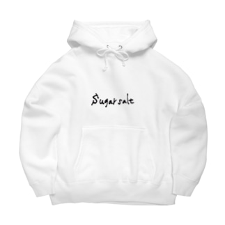 sugarsalt Official Goods Storeのsugarsalt Black LOGO Big Hoodies