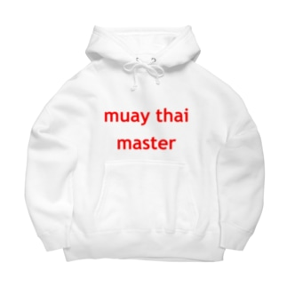 muay thai master  Big Hoodies