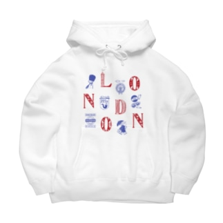 Cities in the World - London (Union Jack) Big Hoodies