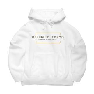 REPUBLIC.TOKYO Big Hoodies