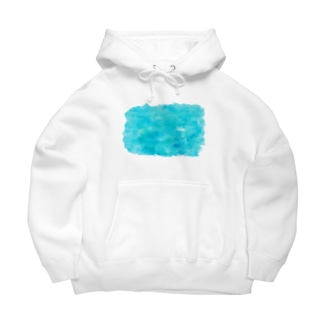 color みずいろ Big Hoodie