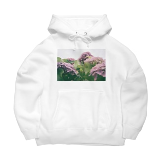 紫陽花 Big Hoodies