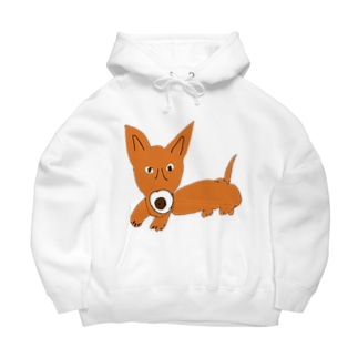 山から来た犬、haku君 Big Hoodies