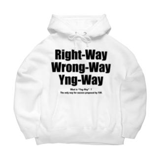 Yng-Way俺のやり方 Big Hoodie