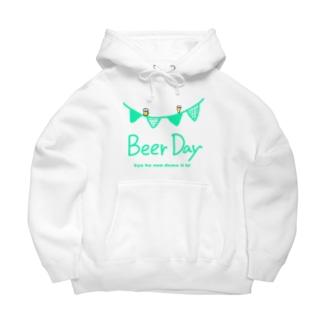 ビールを飲んでもいい日 Big Hoodies
