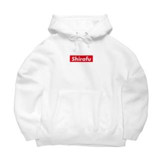 Shirafu QRコード付 Big Hoodies