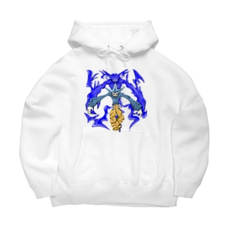 💙🤍 Big Hoodies
