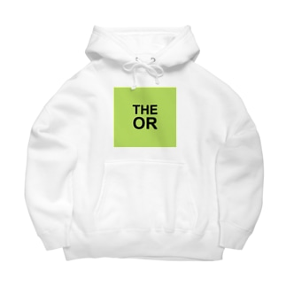 THE OR ビッグシルエットパーカー1 Big Hoodie