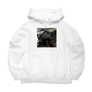 充電中 Big Hoodies