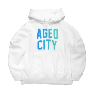 上尾市 AGEO CITY Big Hoodies