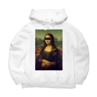 Mona Lisa Big Hoodies