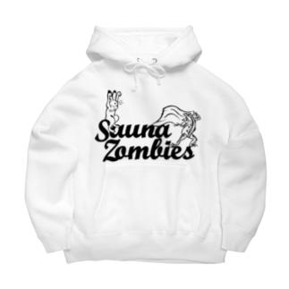 SAUNAZOMBIES - アウフギーガ HOODIE BRIGHT- Big Hoodies
