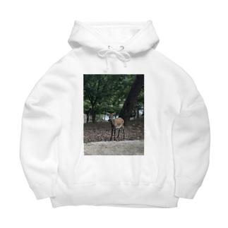 奈良公園の鹿さん Big Hoodies