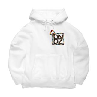 Dodanada'z logo tie dye Big Hoodies