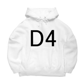 D4 Big Hoodies