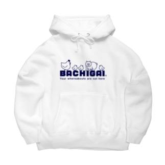 BACHIGAI Big Hoodies