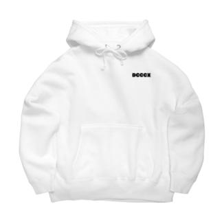 #810 ビッグシルエットパーカー(ホワイト) Big Hoodies